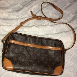 Authentic LV cross body